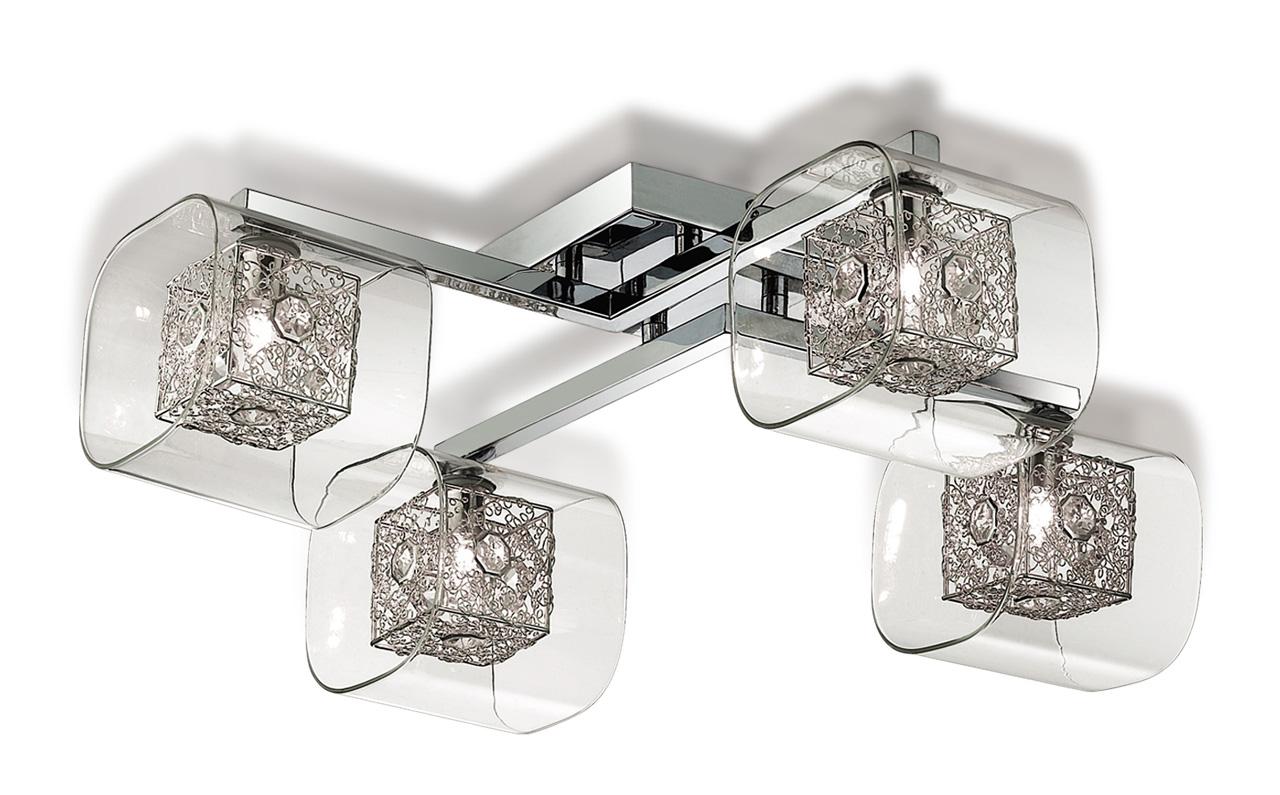 Потолочная люстра Odeon Light Forta 2006/4C odeon light потолочная люстра odeon light nantes 2941 4c