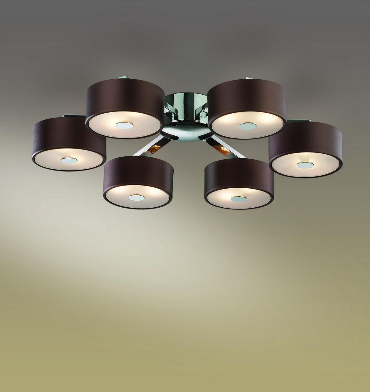 Потолочная люстра Odeon Light Salar 2047/12C