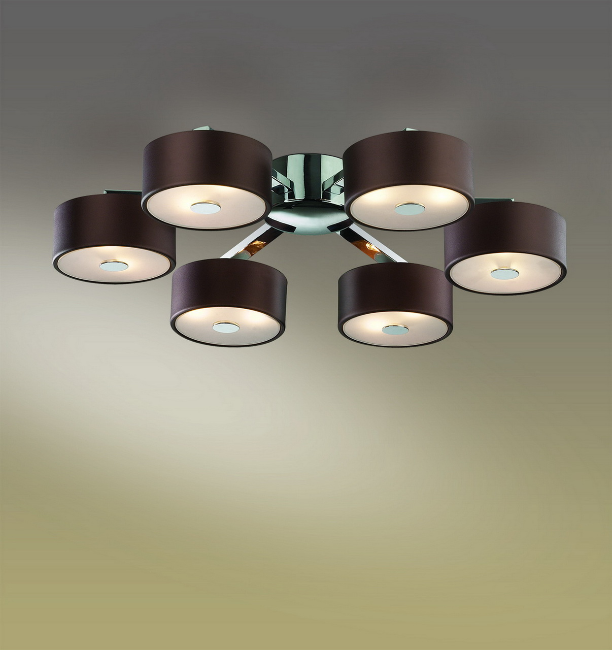 Потолочная люстра Odeon Light Salar 2047/12C потолочная люстра odeon light domeka 2706 8cl
