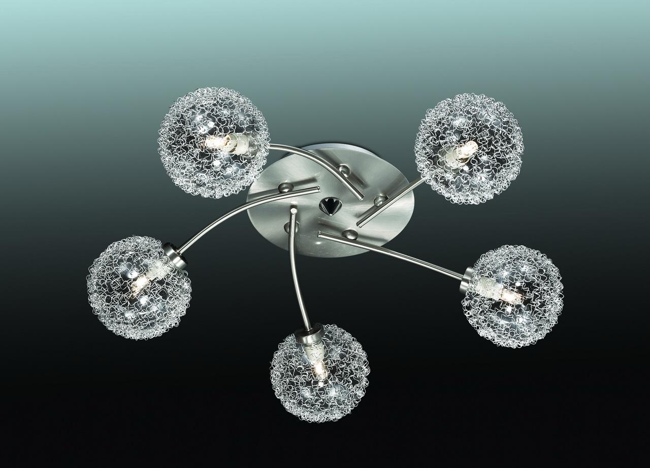 Потолочная люстра Lumion Roxby 2460/5C потолочная люстра j light roxy 1522 5c
