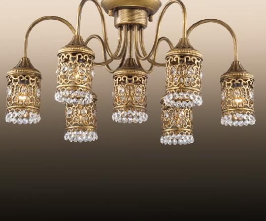 Потолочная люстра Odeon Light Salona 2641/7C потолочная люстра odeon light domeka 2706 8cl
