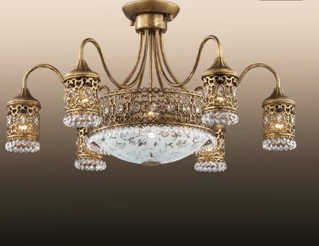 Потолочная люстра Odeon Light Salona 2641/9C потолочная люстра odeon light domeka 2706 8cl