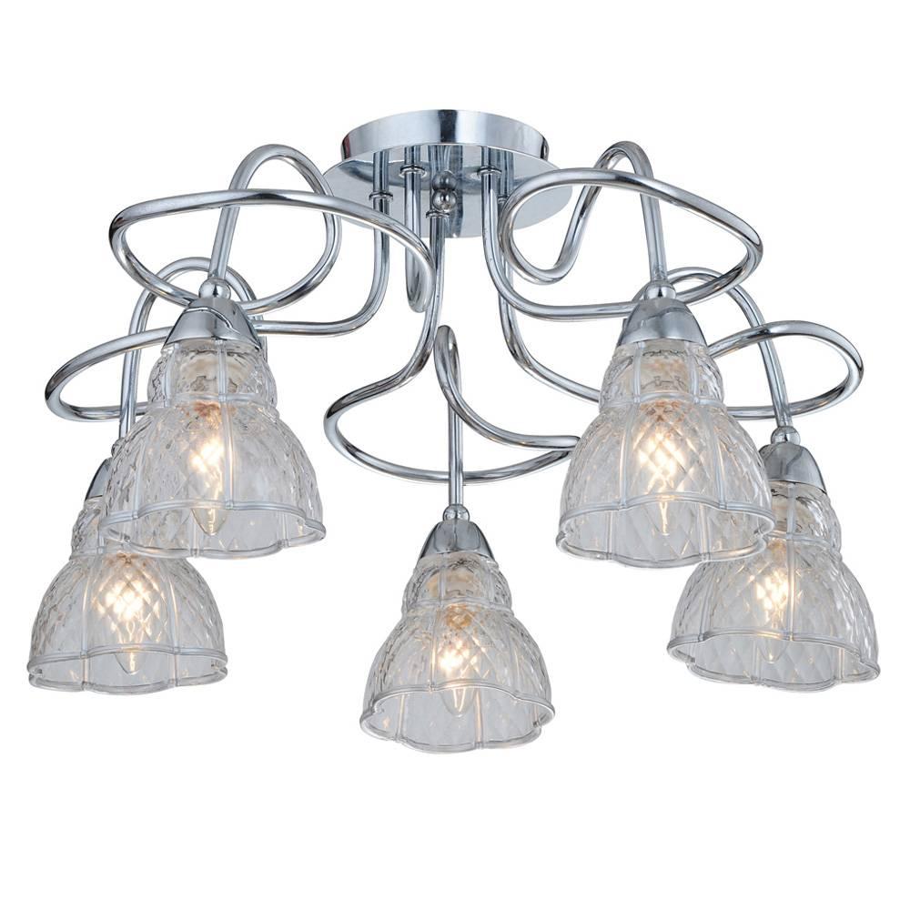 Потолочный светильник IDLamp, E14, 300 Вт люстра потолочная idlamp 202 5pf chrome
