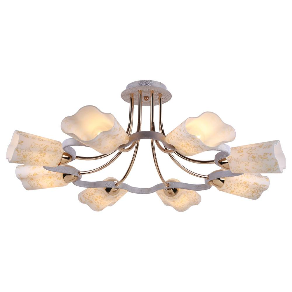 Потолочная люстра Arte Lamp Romola A8182PL-8WG потолочная люстра arte lamp 7 a4577pl 8wg