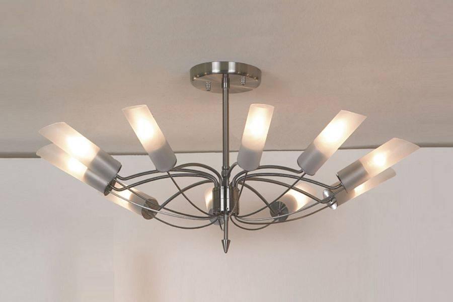 Потолочный светильник Lussole, E14, 600 Вт люстра на штанге lussole lano lsa 2813 10