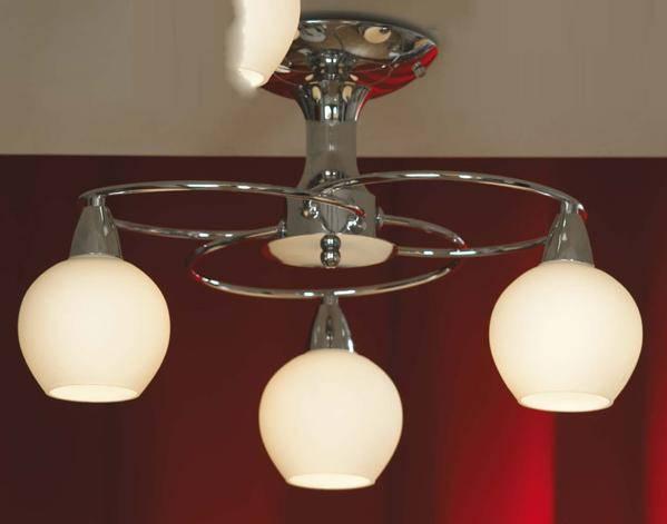 цена на Потолочный светильник Lussole, E14, 120 Вт
