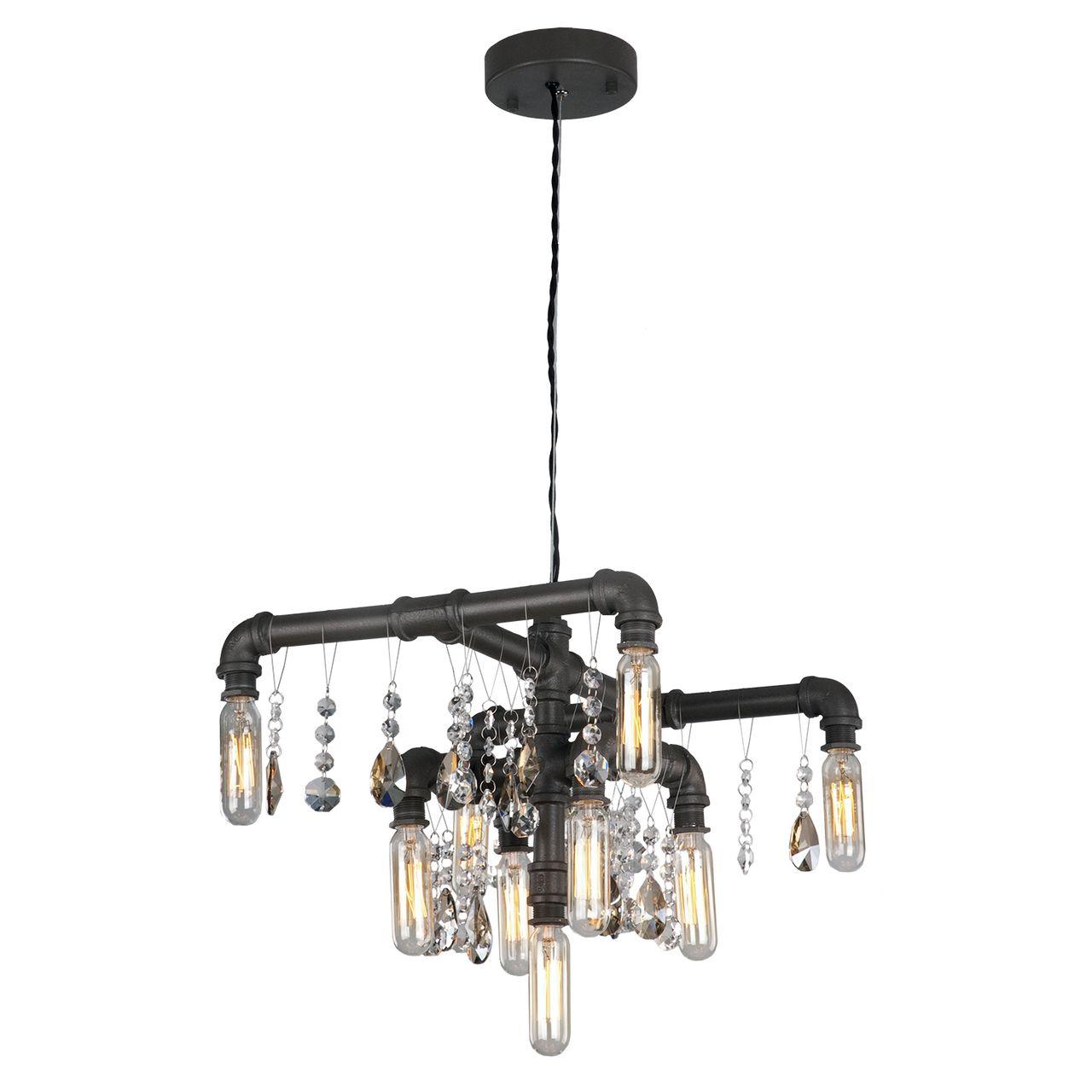 Подвесной светильник Lussole LOFT, E14, 360 Вт подвесная люстра lussole lsp 0216