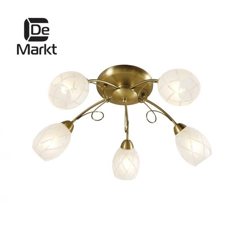 Потолочная люстра De Markt Грация 358011505 потолочная люстра de markt city грация 677010605