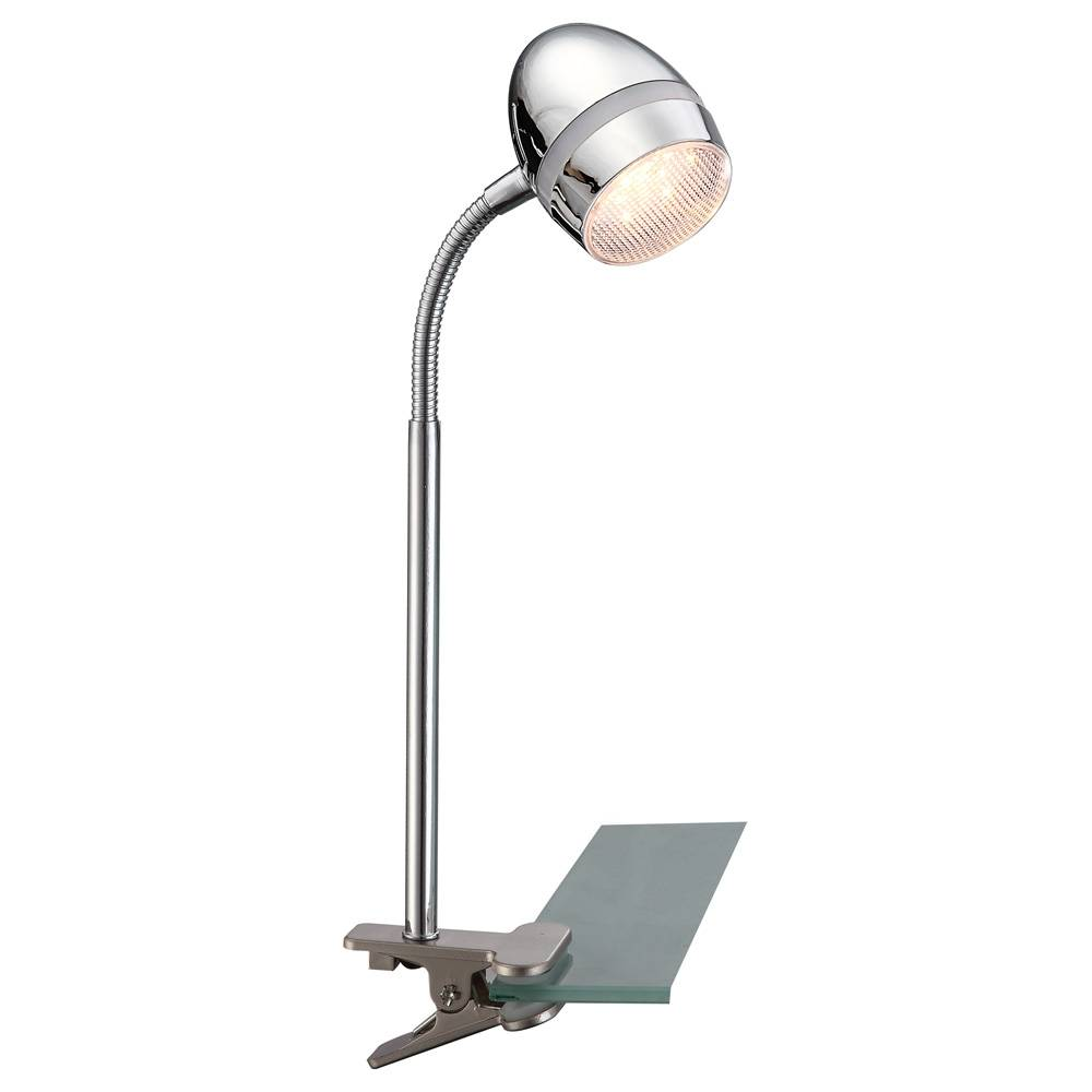 Настольный светильник Globo, LED, 3 Вт настольный светильник globo new 24124 серый металлик