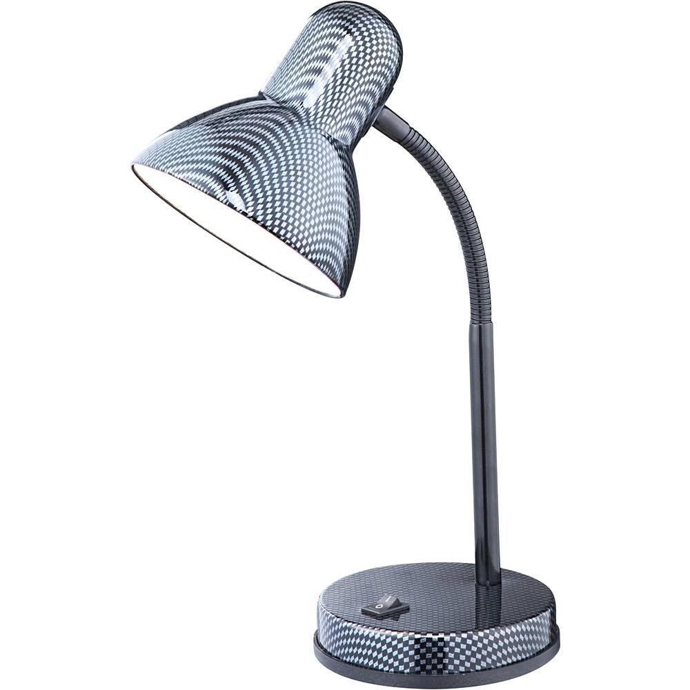 Настольный светильник Globo, E27, 60 Вт настольный светильник globo new 24124 серый металлик