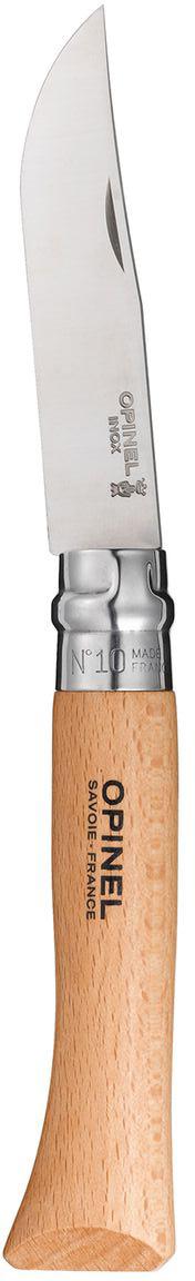Нож Opinel n°10 нержавеющая сталь 123100