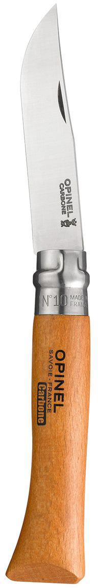 Нож Opinel n°10 углеродистая сталь 113100