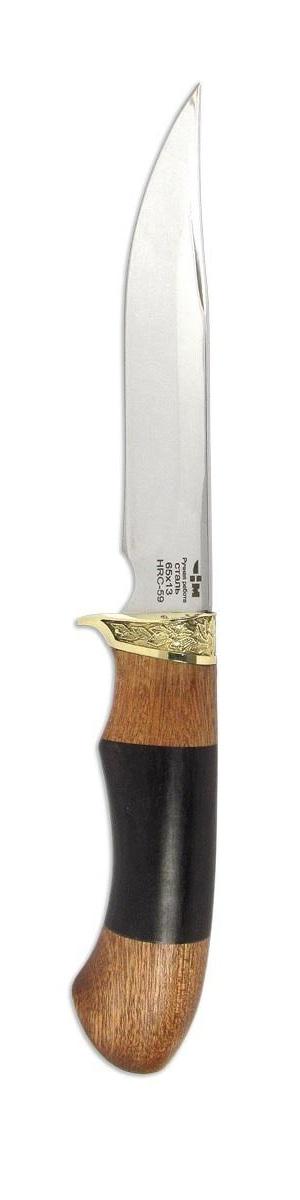 Нож охотничий Ножемир Зверобой, длина клинка 14,3 см нож охотничий ножемир казачий цвет темно коричневый длина клинка 24 1 см