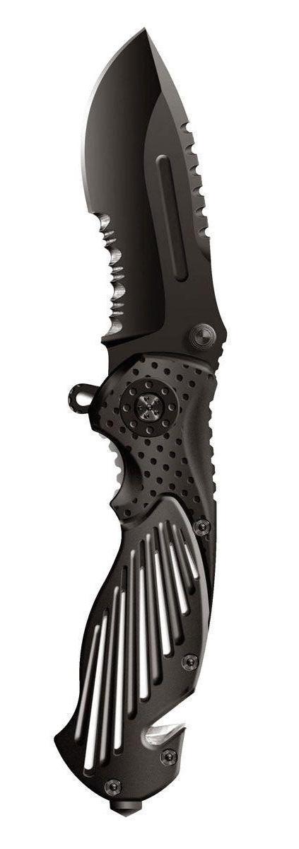 """Нож складной Stinger """"SA-580B"""", цвет: черный, 8,4 см"""