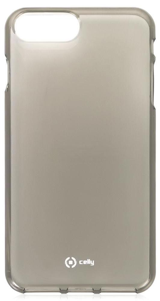 Celly Gelskin чехол-накладка для Apple iPhone 7 Plus/8 Plus, Black чехол накладка interstep is bloom для apple iphone 7 8 plus turquoise