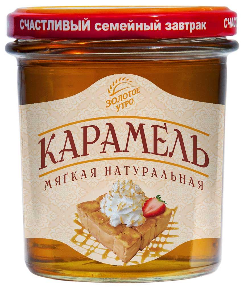 Золотое Утро cироп Мягкая карамель, 400 г золотое утро сироп для кофе классический 340 г
