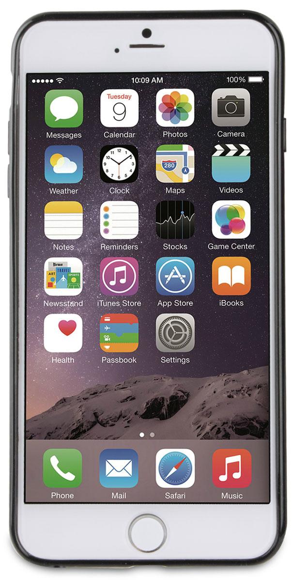 Muvit Myframe Case чехол для Apple iPhone 6 Plus/6s Plus, Black чехол для apple iphone 6 plus iphone 6s plus leather case black