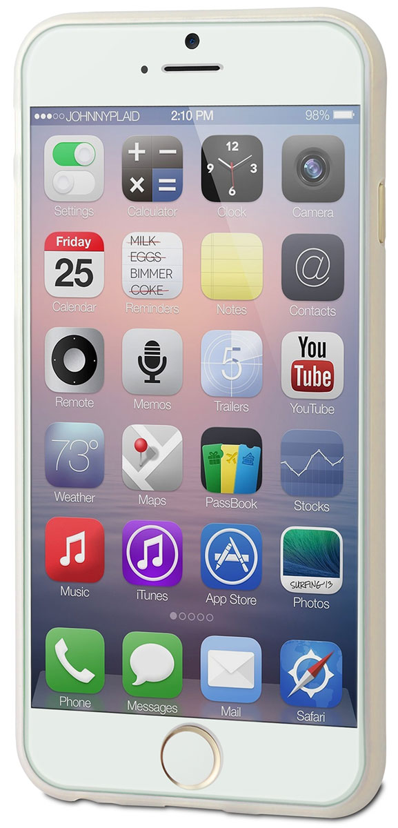Muvit Thingel Case чехол для Apple iPhone 6/6s, Clear
