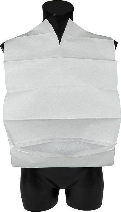 Abena Одноразовые трехслойные нагрудники с карманом, 38 х 60 см, 100 шт цена