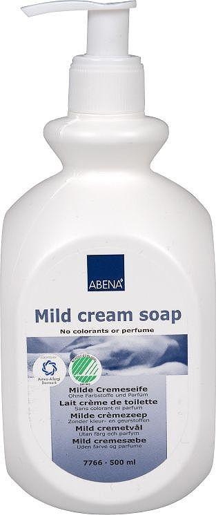 Abena Нежное крем-мыло, 500 мл крем мыло для тела canaan крем мыло для тела