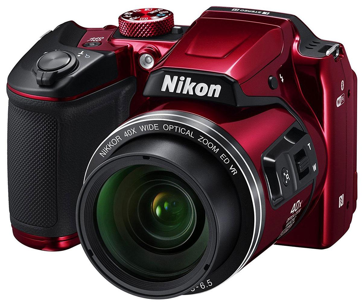 Компактный фотоаппарат Nikon Coolpix B500, Red