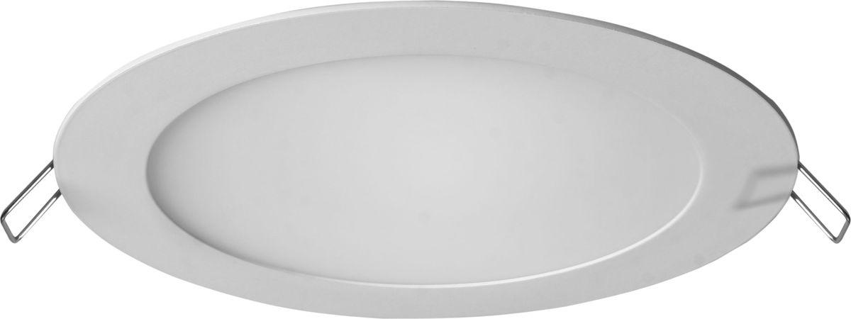 Панель светодиодная REV Super Slim Round, встраиваемая, 18 W, 4000 К, диаметр 23 см. 28946 3 панель led rev встраиваемая superslim round 18вт 6500к