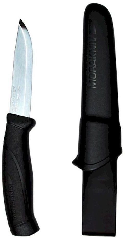Нож туристический Morakniv Companion, цвет: черный, стальной, длина лезвия 10,3 см