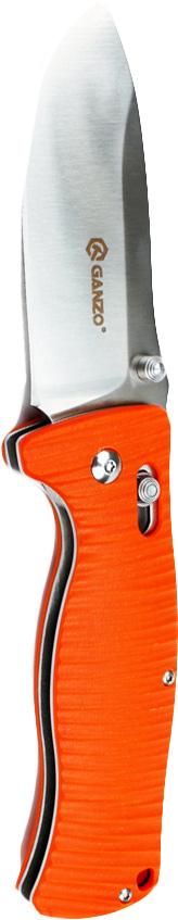 Нож Ganzo G720 оранжевый нож ganzo g720 оранжевый