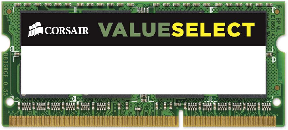 Модуль оперативной памяти Corsair ValueSelect SO-DIMM DDR3L 4Gb 1600 МГц (CMSO4GX3M1C1600C11)