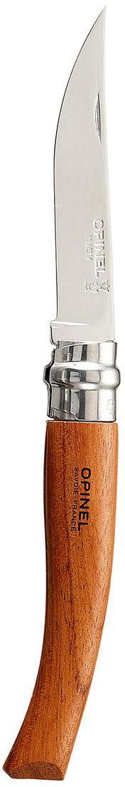 Нож Opinel филейный n°8 нержавеющая сталь 000015 нож opinel no 8 с чехлом длина лезвия 8 5 см