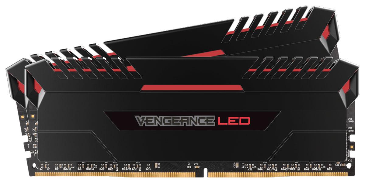 Комплект модулей оперативной памяти Corsair Vengeance LED DDR4 2x16Gb 3000 МГц (CMU32GX4M2C3000C15R)