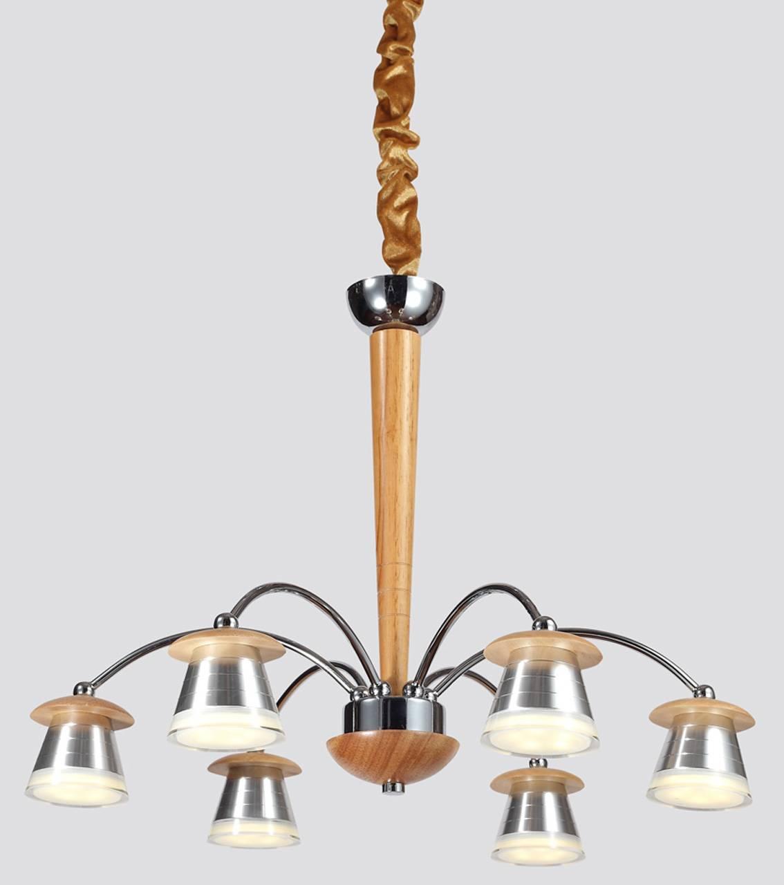 Подвесной светильник Lucia Tucci, LED, 30 Вт lucia tucci люстра natura 073 6 led