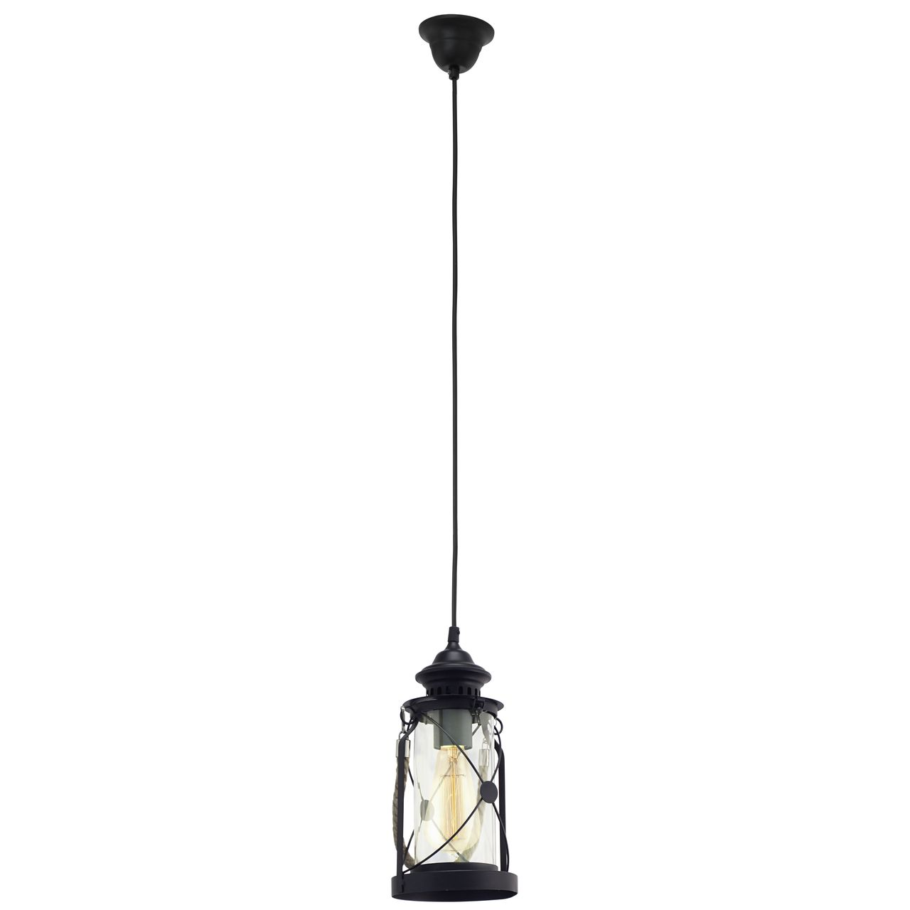 Подвесной светильник Eglo Vintage 49213 абажур eglo vintage 49659