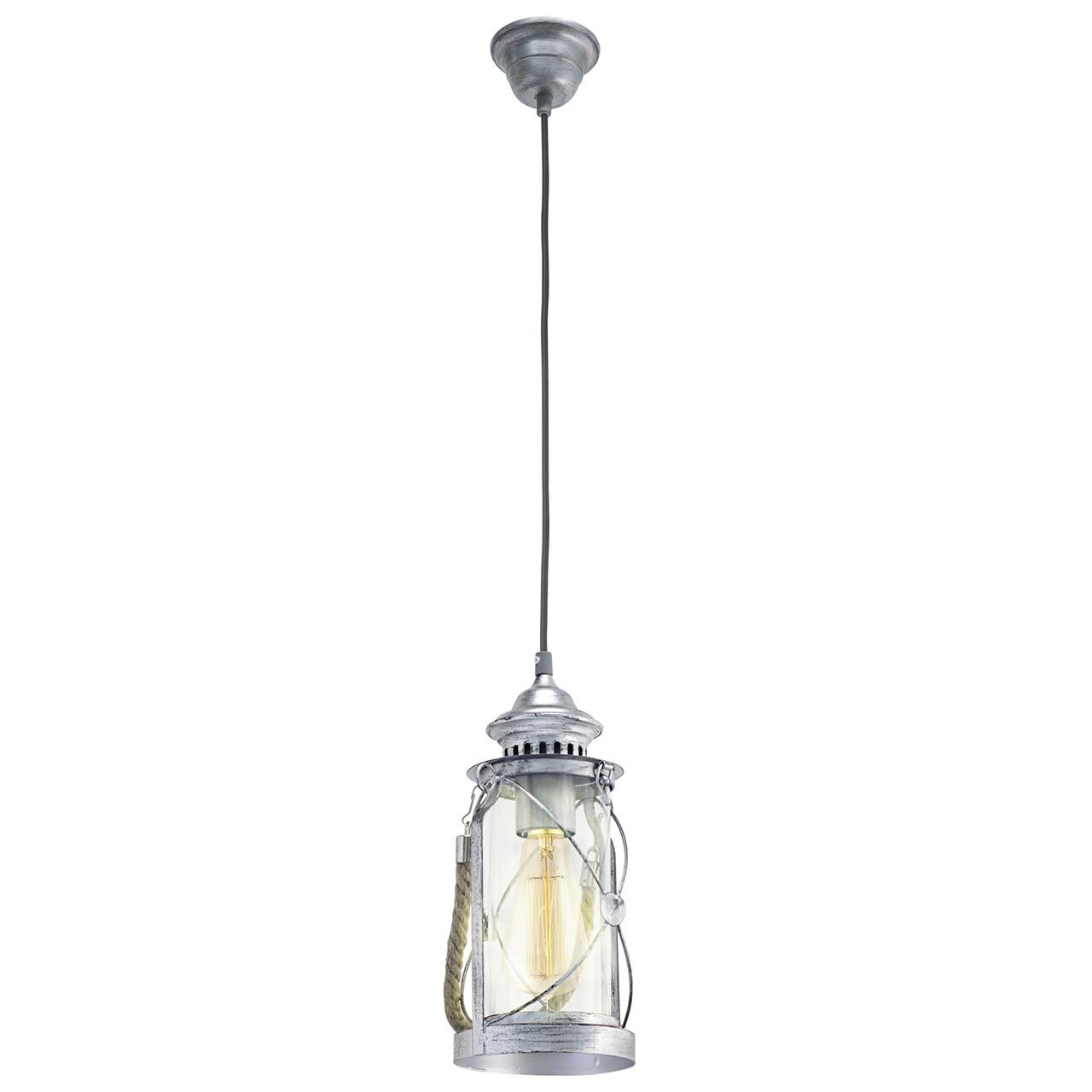 Подвесной светильник Eglo Vintage 49214 абажур eglo vintage 49659