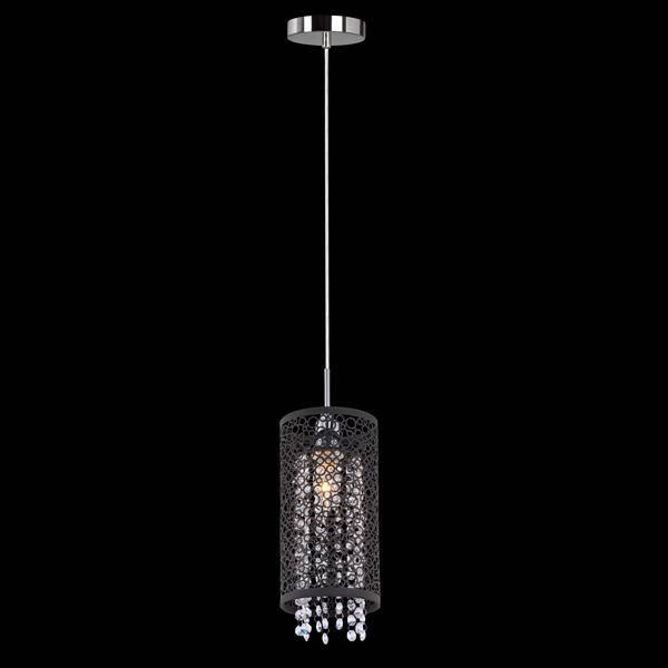 Подвесной светильник Eurosvet 1180/1 хром подвесной светильник eurosvet тоскана 50047 1 коричневый