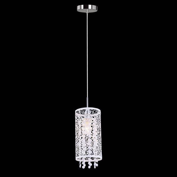 Подвесной светильник Eurosvet 1181/1 хром подвесной светильник eurosvet тоскана 50047 1 коричневый