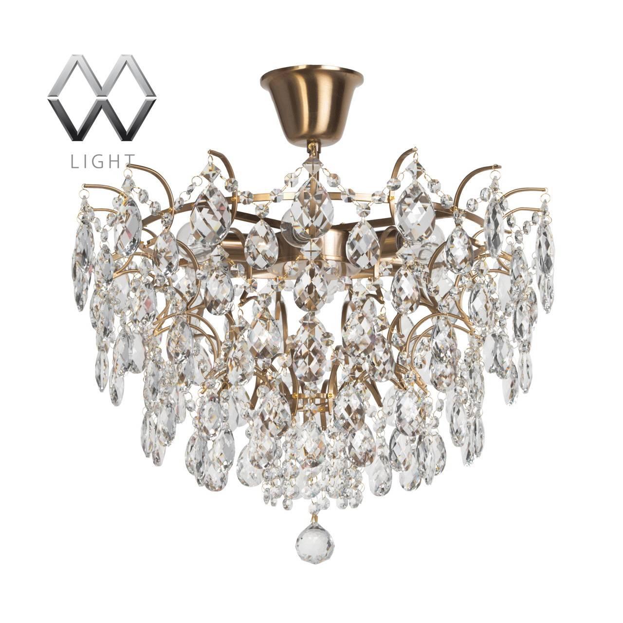 Потолочная люстра MW-Light Изабелла 351015806 настенный светильник mw light изабелла 351021202