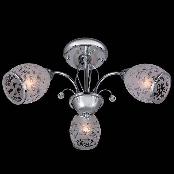 Потолочная люстра Eurosvet 30026/3 хром to4rooms лампа потолочная barneʙi page 3