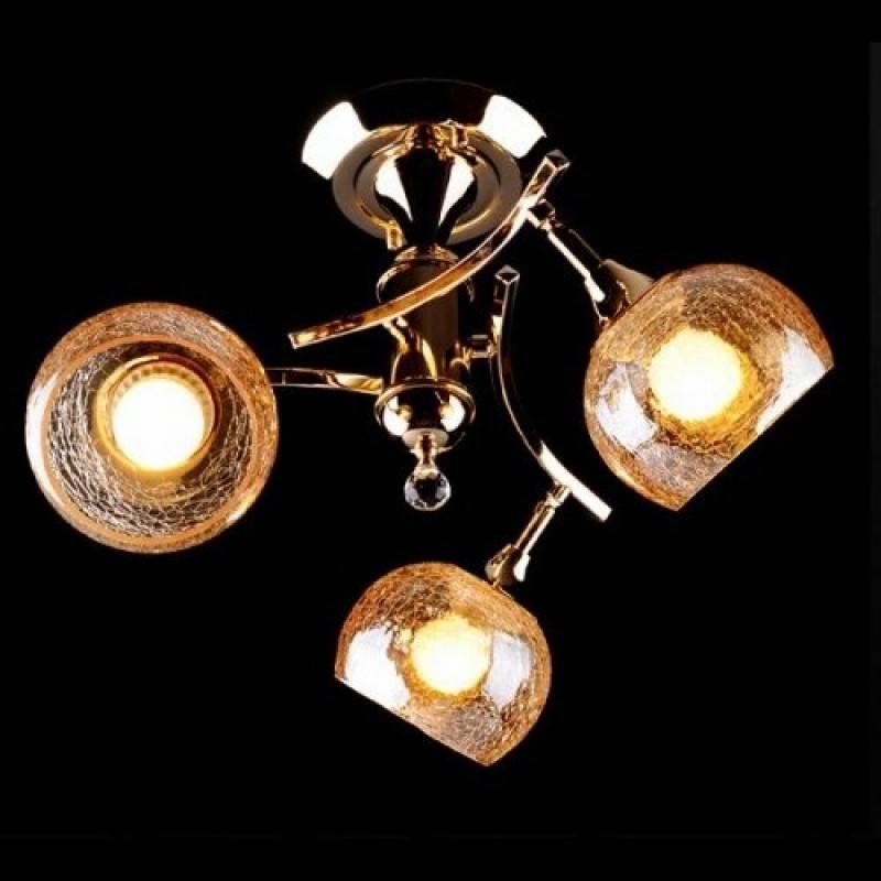 Потолочная люстра Eurosvet 3353/3Н золото/коричневый люстра потолочная eurosvet 3353 3 золото желтый