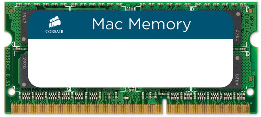 Комплект модулей оперативной памяти Corsair Mac Memory SO-DIMM DDR3 2х4Gb 1333 МГц (CMSA8GX3M2A1333C9) компьютер apple mac pro md878ru a
