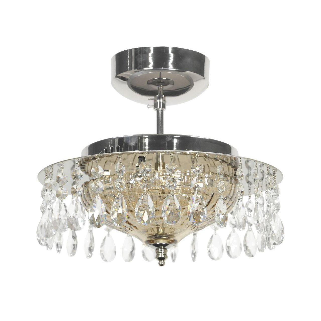Потолочный светильник Lucia Tucci Eva 1630.6 Silver потолочный светодиодный светильник lucia tucci grappolo 1801 6 silver