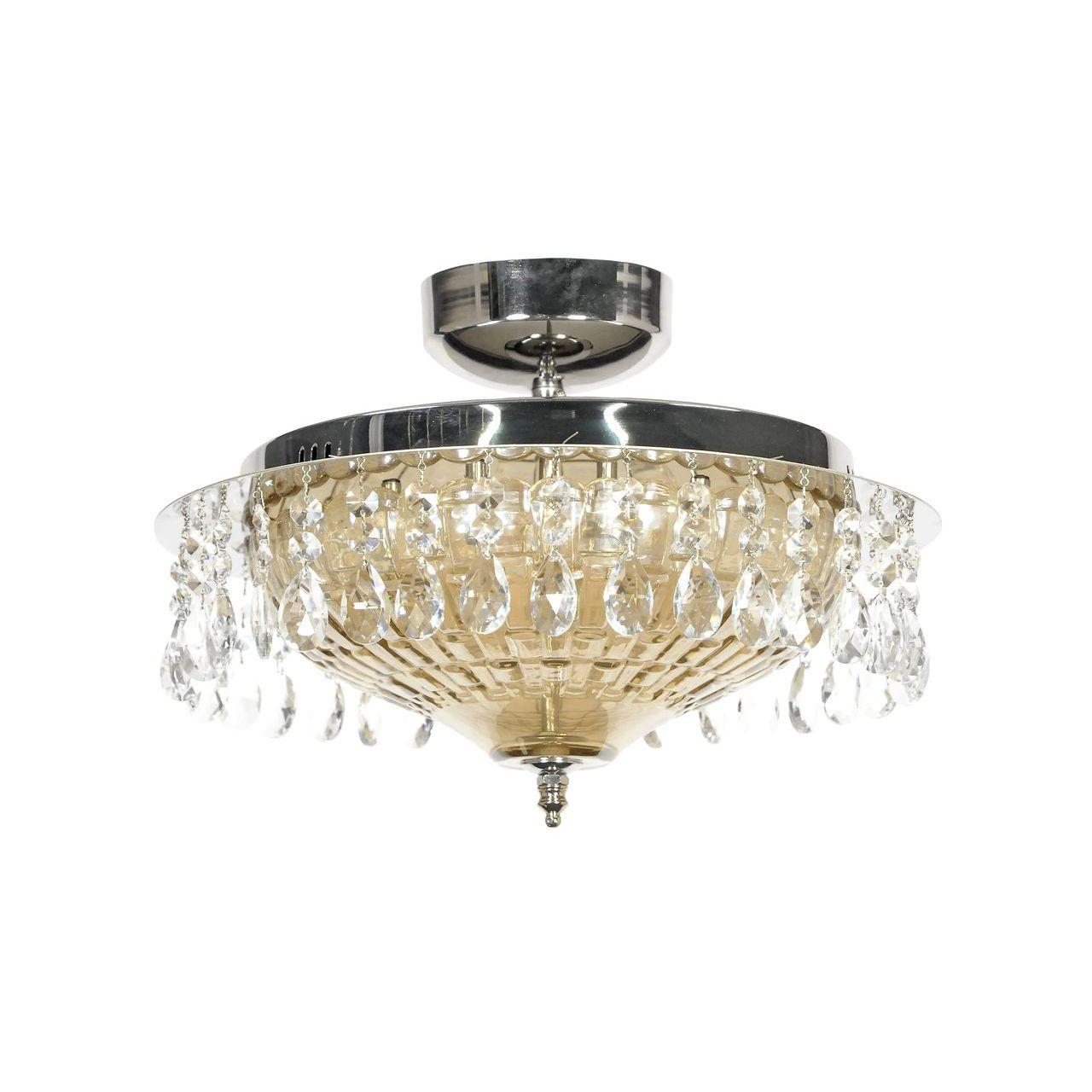 Потолочный светильник Lucia Tucci Eva 1631.8 Silver потолочный светодиодный светильник lucia tucci grappolo 1801 6 silver