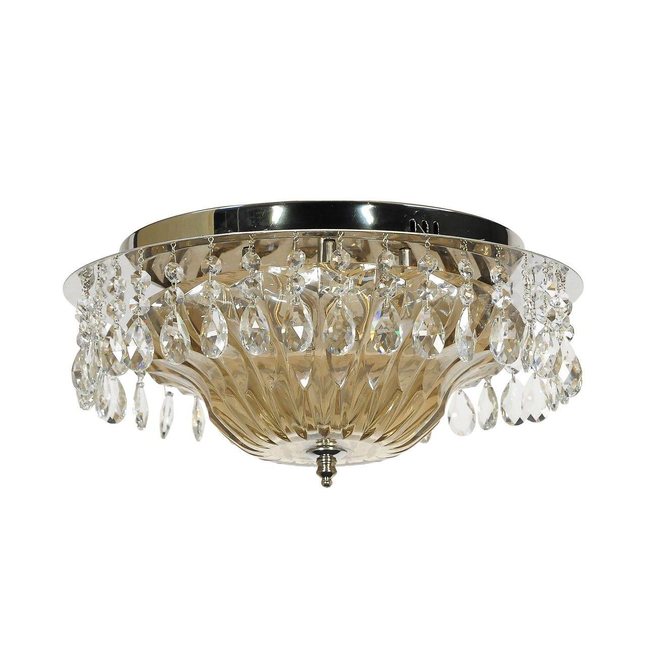 Потолочный светильник Lucia Tucci Eva 1634.8 Silver потолочный светодиодный светильник lucia tucci grappolo 1801 6 silver