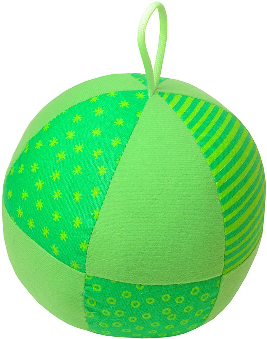Мякиши Развивающая игрушка Веселый мячик цвет зеленый цена