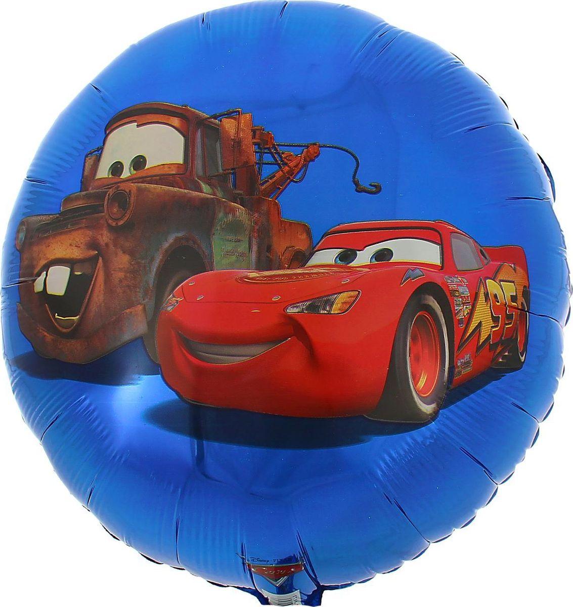 Disney Шар воздушный Тачки Круг 18 Street воздушный шар sam baloes 2 0154