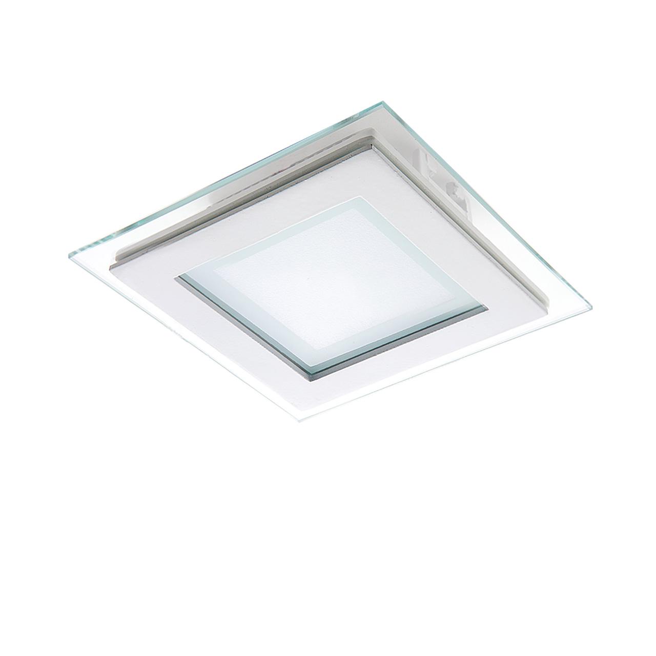 Встраиваемый светильник Lightstar, LED, 6 Вт встраиваемый светильник lightstar led 26 вт
