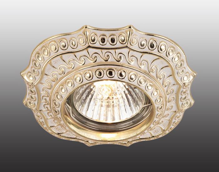 Встраиваемый светильник Novotech Vintage 369856 novotech встраиваемый светильник vintage 370180