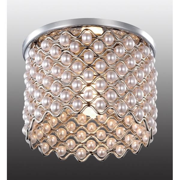 Встраиваемый светильник Novotech, G9, 40 Вт