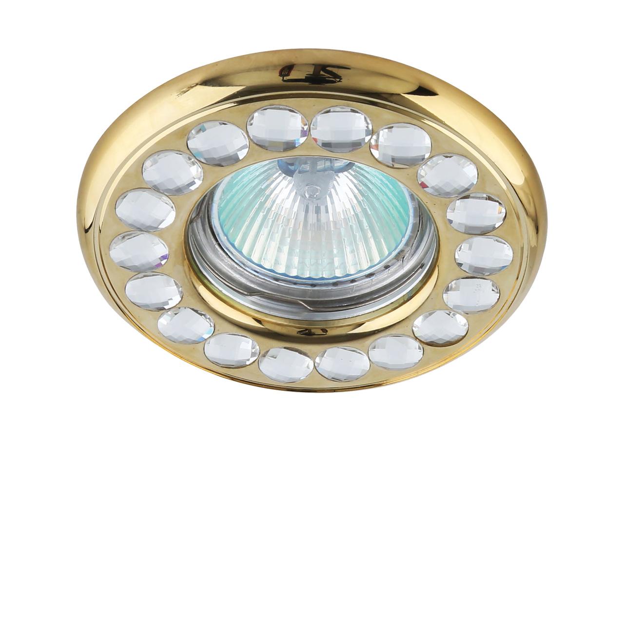 Встраиваемый светильник Lightstar, GU5.3, 50 Вт точечный светильник lightstar 212149