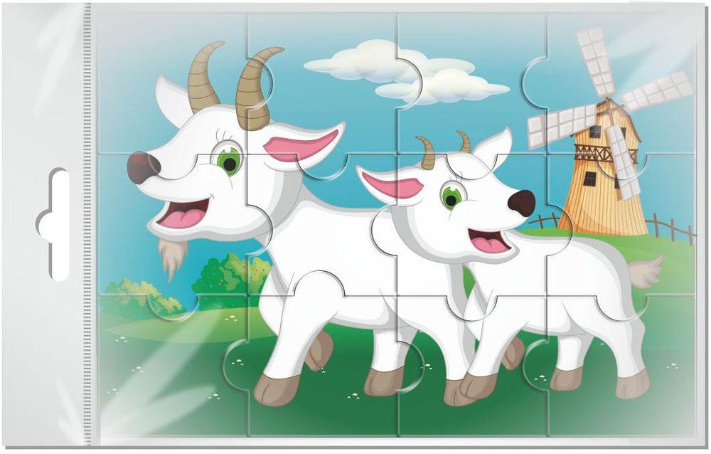 любой зеркальный картинка пазл коза делал много разных
